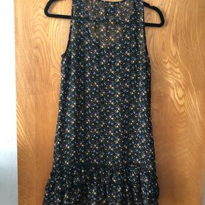 Anthropologie Dresses - Fei Anthro midi tank dress with floral pattern XS